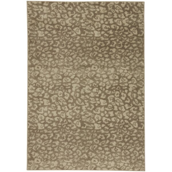 Rhea Camel Tan Area Rug by 17 Stories