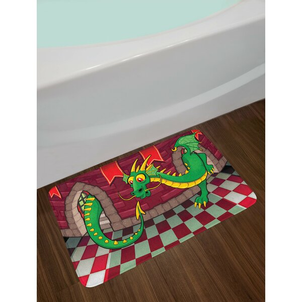 Cartoon Video Game Bath Rug by East Urban Home