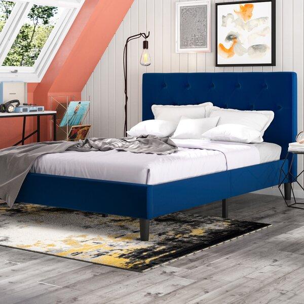 Chaska Upholstered Platform Bed Frame by Trule Teen