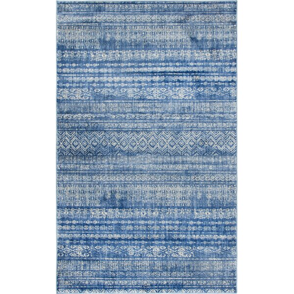Montross Navy Area Rug by Williston Forge