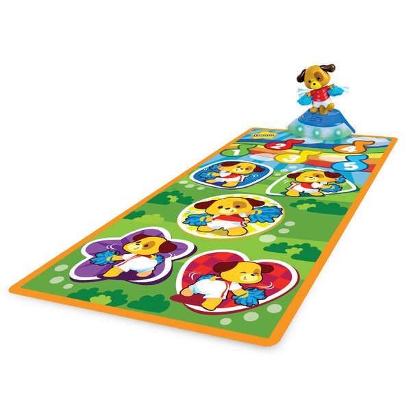 Cheer-Up Puppy Dancing Floor Mat by Winfin