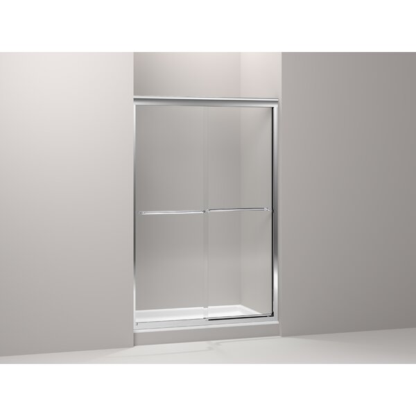 Fluence 52 x 76 Bypass Shower Door with CleanCoat® Technology by Kohler