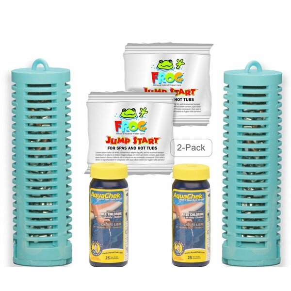 Mineral Buddies Mineral Boss Spa Purifier Combo Pack by Carefree Stuff