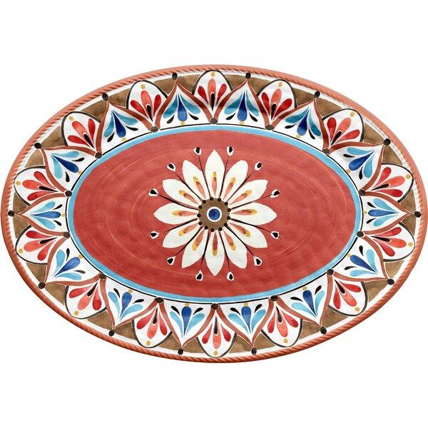 Boyle Melamine Platter by Bungalow Rose
