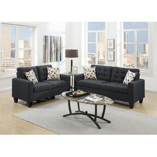 Ardean 2 Piece Living Room Set by Ebern Designs