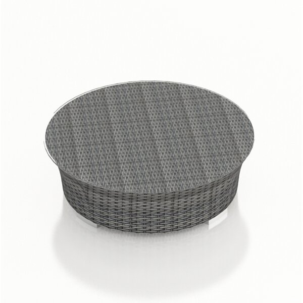 Hobbs wicker Coffee Table by Rosecliff Heights