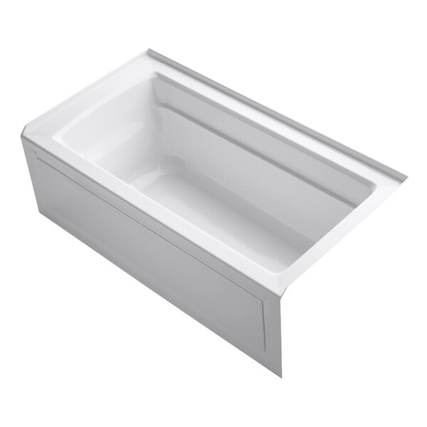 Archer Alcove Bubblemassage 60 x 32 Soaking Bathtub by Kohler