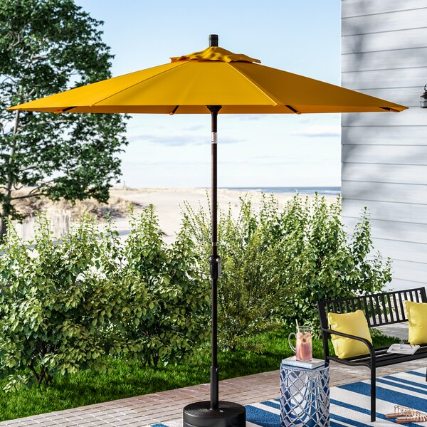 Mullaney 9' Market Umbrella By Beachcrest Home by Beachcrest Home Comparison