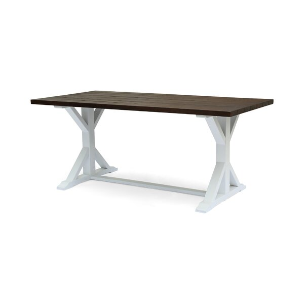 Hobby Traditional Solid Wood Dining Table by Gracie Oaks
