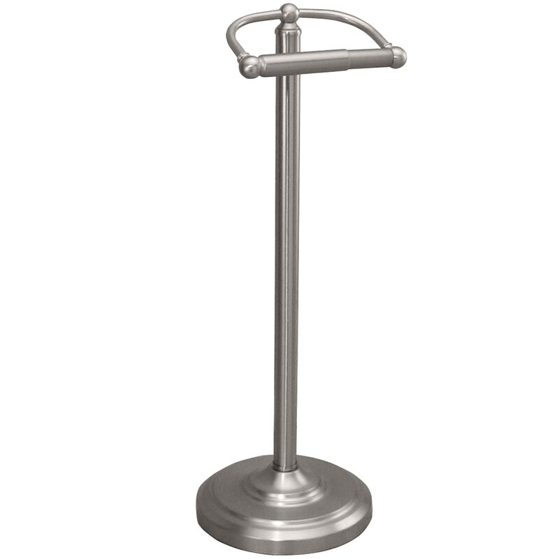 bath accessories free standing toilet paper holder - Bathroom Accessories Toilet Paper Holders