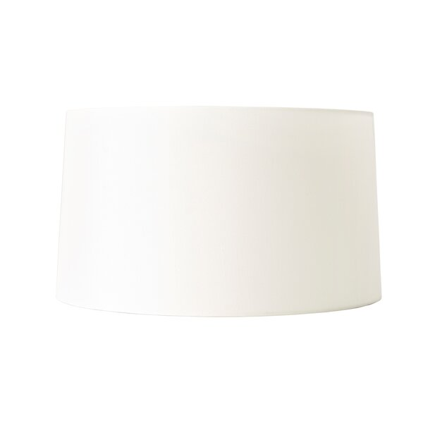 Paper Drum Lamp Shade in Off-White
