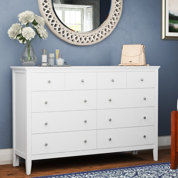 Fordwich 8 Drawer Double Dresser by Three Posts