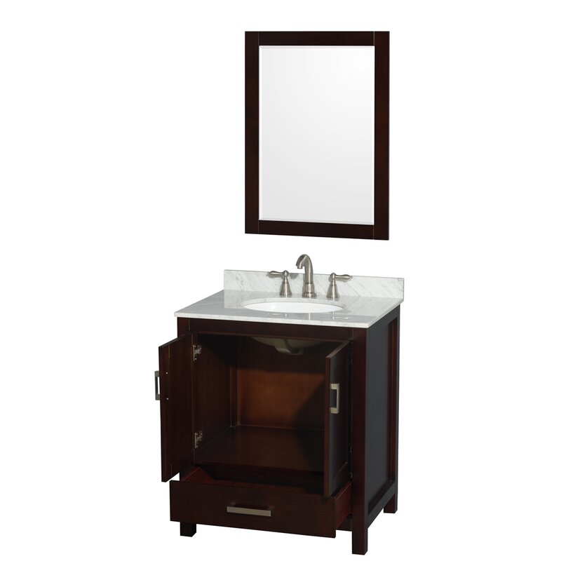 drawers brokering shaker cabinet with bathroom vanity vanities espresso solutions