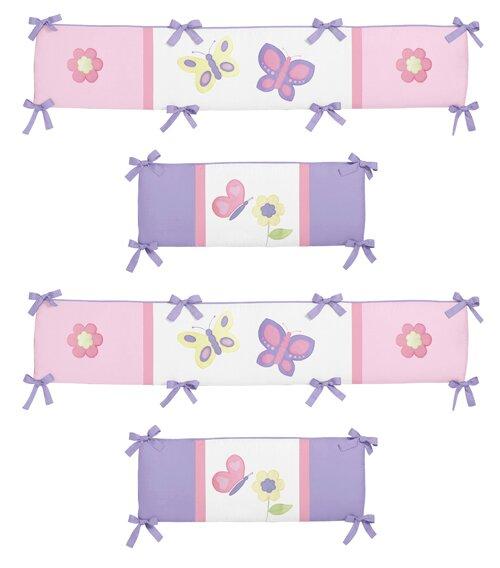 Butterfly Crib Bumper by Sweet Jojo Designs
