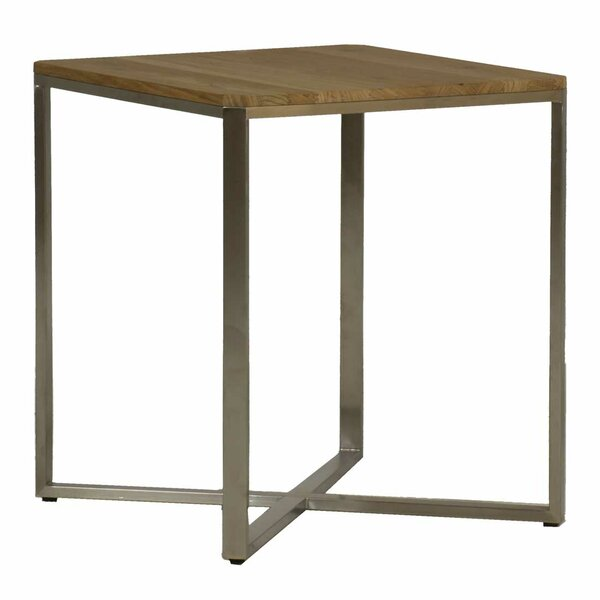 Bradley Stainless Steel Side Table by Summer Classics