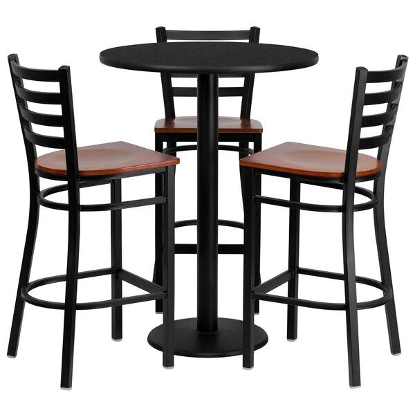 Abrar 4 Piece Pub Table Set by Red Barrel Studio