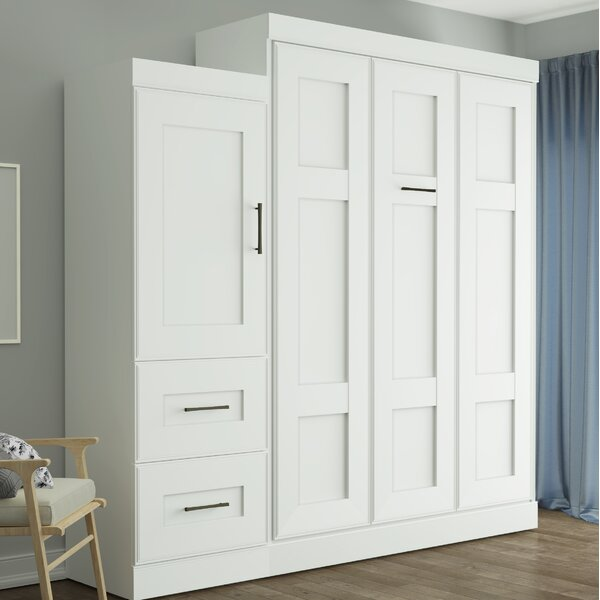 St. Mark inchs Place Murphy Bed by Latitude Run