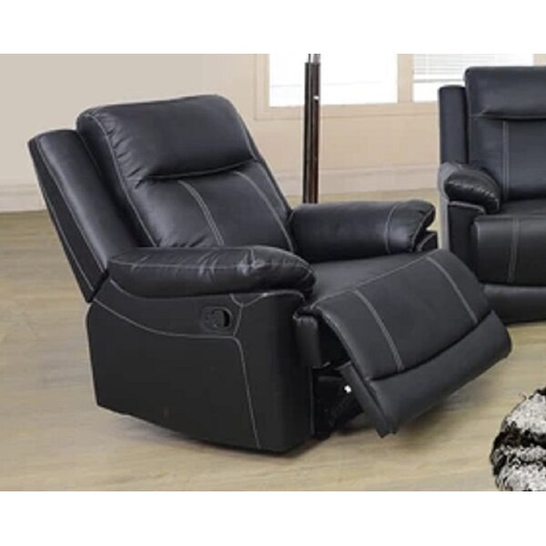 Viesville Faux Leather Manual Lift Assist Recliner W003217074
