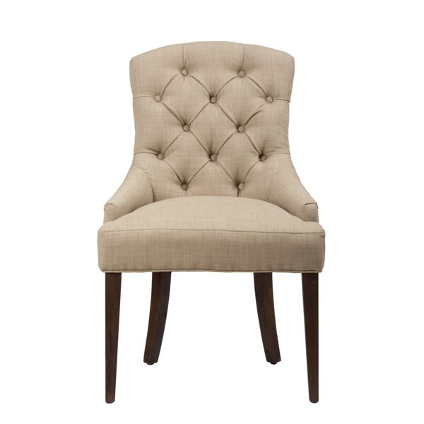 Eliana Upholstered Dining Chair by Alcott Hill