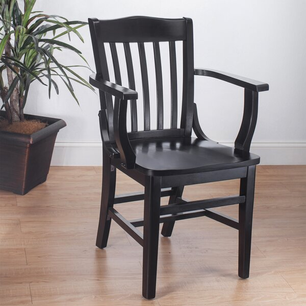 Kershaw Solid Wood Dining Chair by Alcott Hill