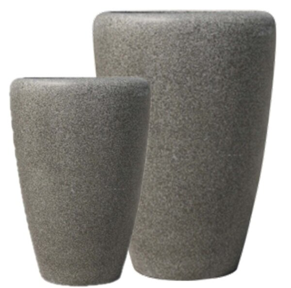 Gascon 2-Piece Fibreglass Pot Planter Set by 17 Stories