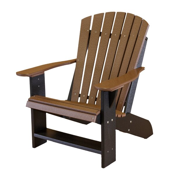 Patricia Wood Adirondack Chair by Rosecliff Heights