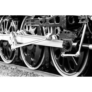 Antique Train Photographic Print on Canvas by iCanvas