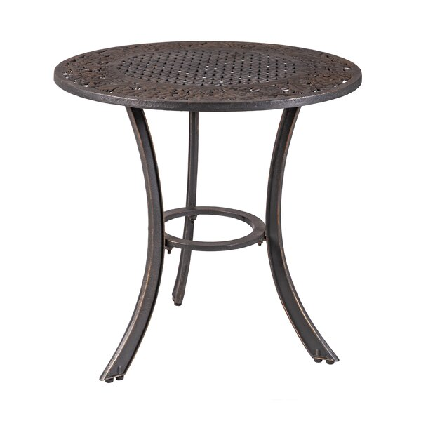 Millerville Cast Iron Dining Table by Canora Grey
