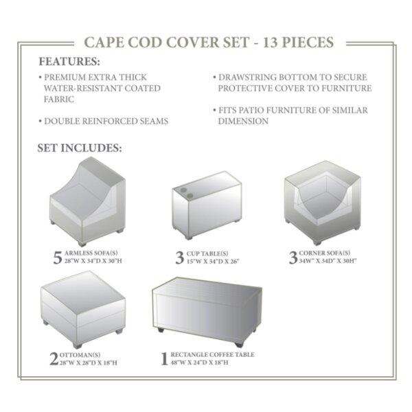 Cape Cod Winter 14 Piece Cover Set by TK Classics