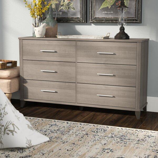 Valencia 6 Drawer Double Dresser by Laurel Foundry Modern Farmhouse