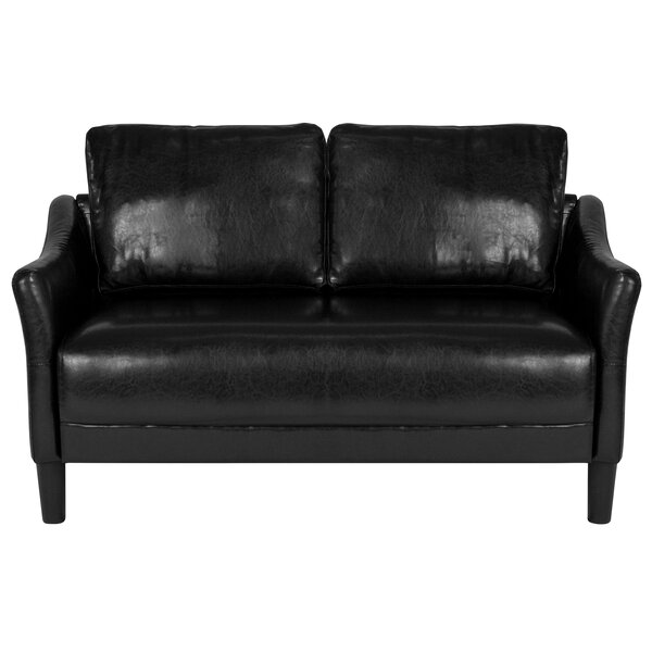 Mitesh Upholstered Loveseat by Winston Porter