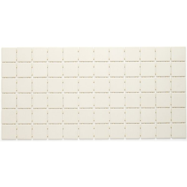 Dalton 12 x 24 Porcelain Mosaic Tile in Almond by Itona Tile