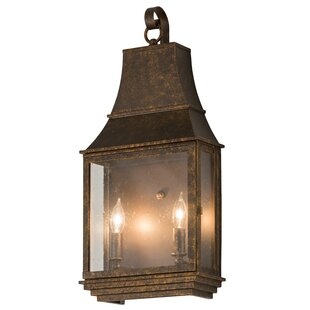 Reviews Uxbridge Pocket 2-Light Outdoor Wall Lantern By Canora Grey