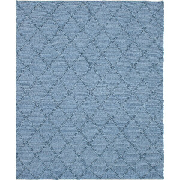 Maui Braided Handmade Sky Blue Area Rug by Bungalow Rose