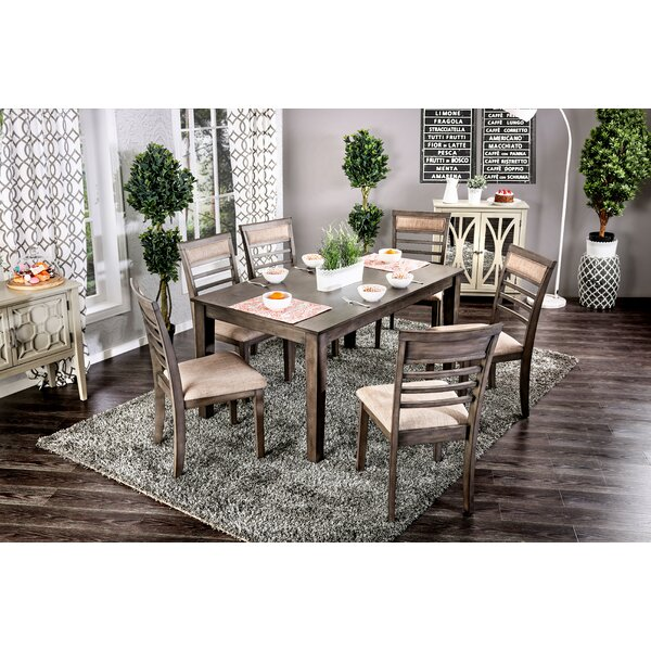 Daniel 7 Piece Dining Set by Red Barrel Studio