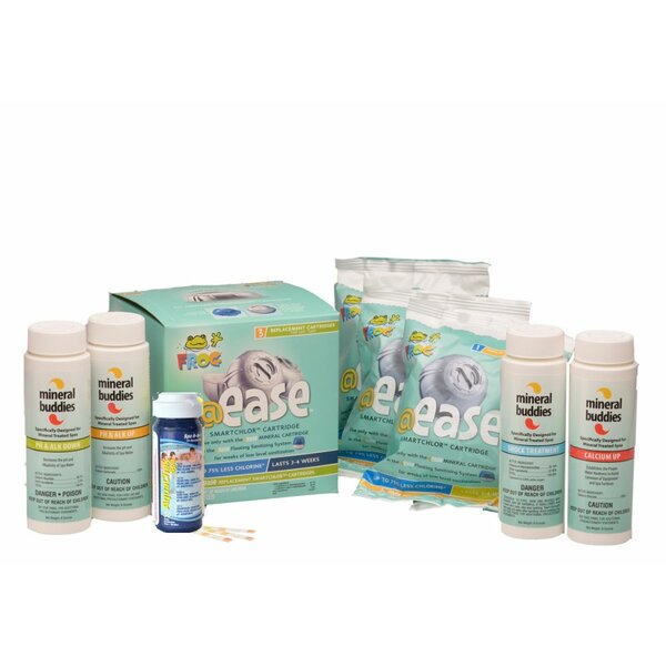 Mineral Buddies @ease SmartChlor Refill Kit by Carefree Stuff