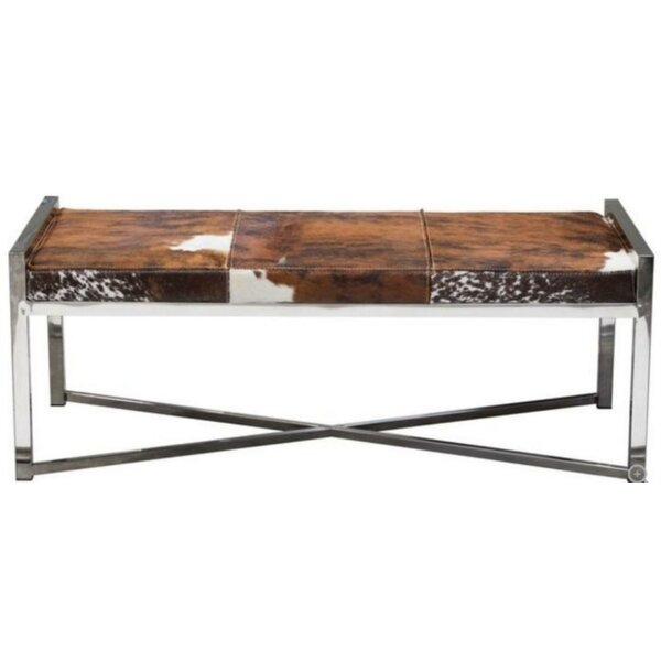 Dungannon Metal Bench by Everly Quinn Everly Quinn