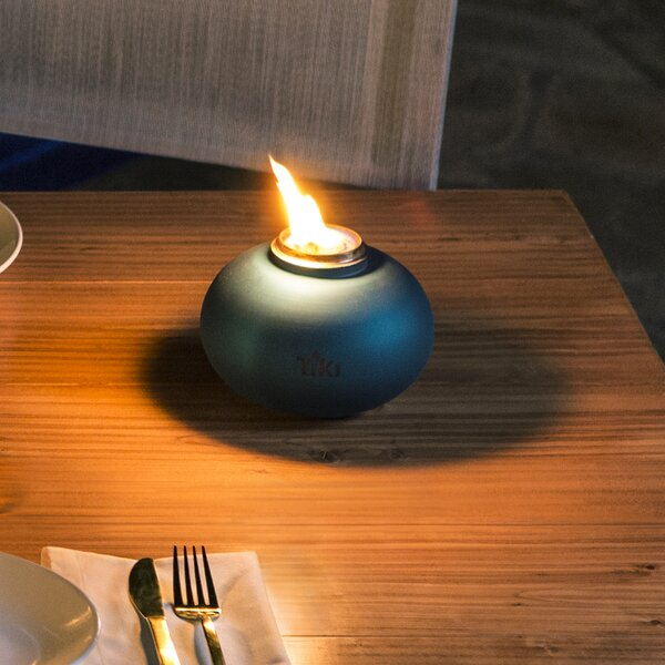 Clean Burn Tabletop Fireplace by TIKI Brand