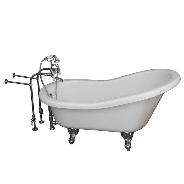 60 x 29.25 Soaking Bathtub Kit by Barclay