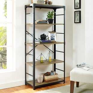 Reviews Cecelia Iron Standard Bookcase By Trent Austin Design