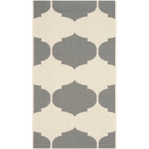 António Beige/Anthracite Area Rug