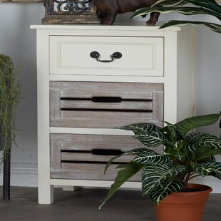 Best Price 3 Drawer Nightstand by Cole & Grey