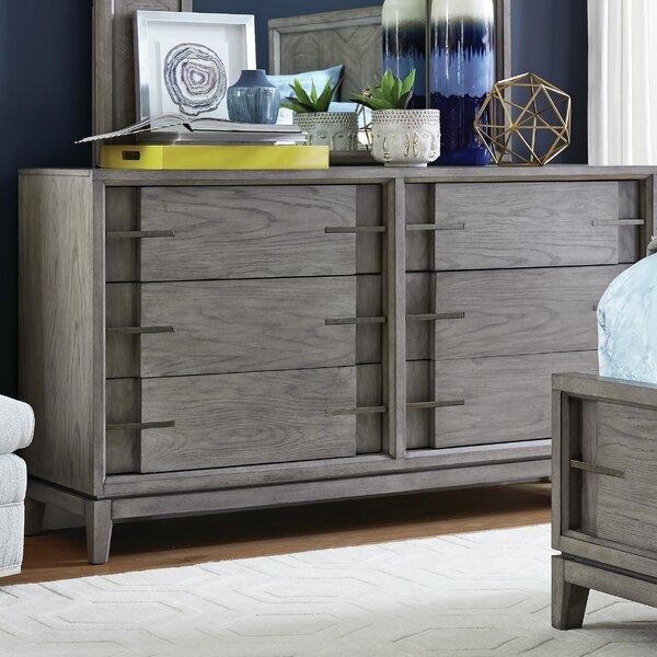 Eichhorn Wood 6 Drawer Double Dresser by Brayden Studio