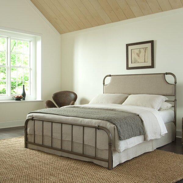 Mize Upholstered Standard Bed by Williston Forge