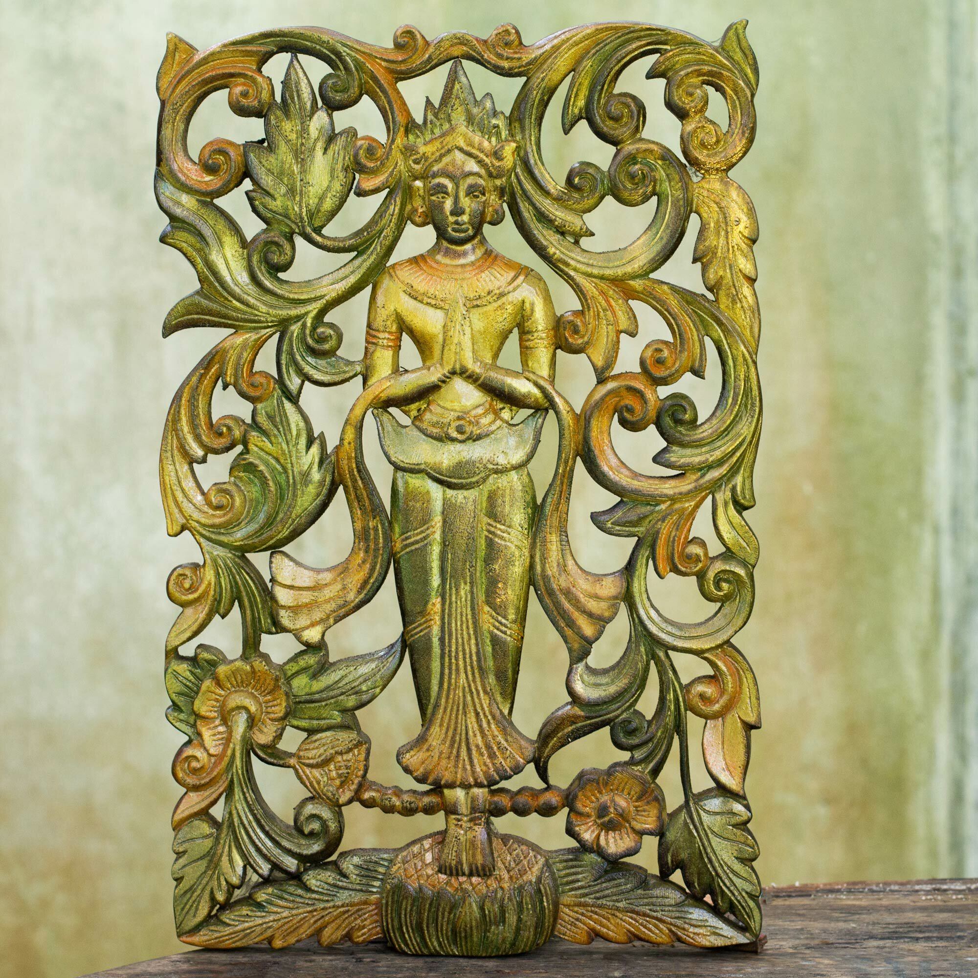 Awesome Carved Wood Wall Decor Gallery - The Wall Art Decorations ...