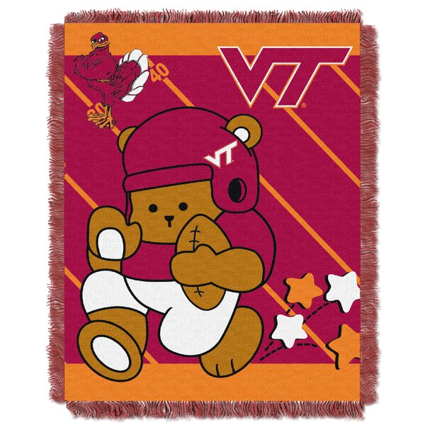Collegiate Virginia Tech Baby Blanket by Northwest Co.
