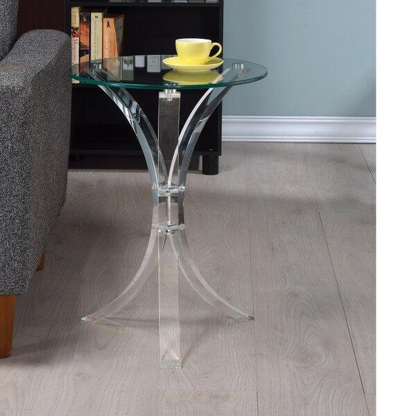 Krishnamurthy Contemporary End Table by Orren Ellis