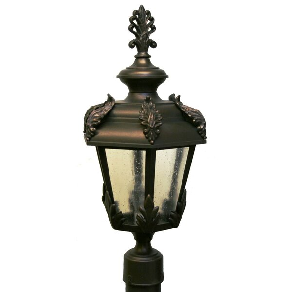 Petrey 1 Light 23 Post Lantern by Alcott Hill