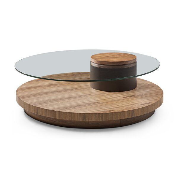 Sahil Solid Wood Sled Coffee Table With Storage By Brayden Studio