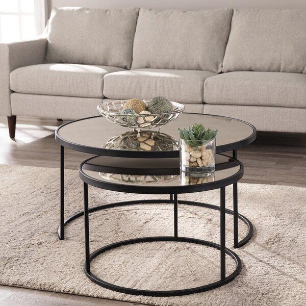 Downham 2 Piece Coffee Table Set By Mercer41